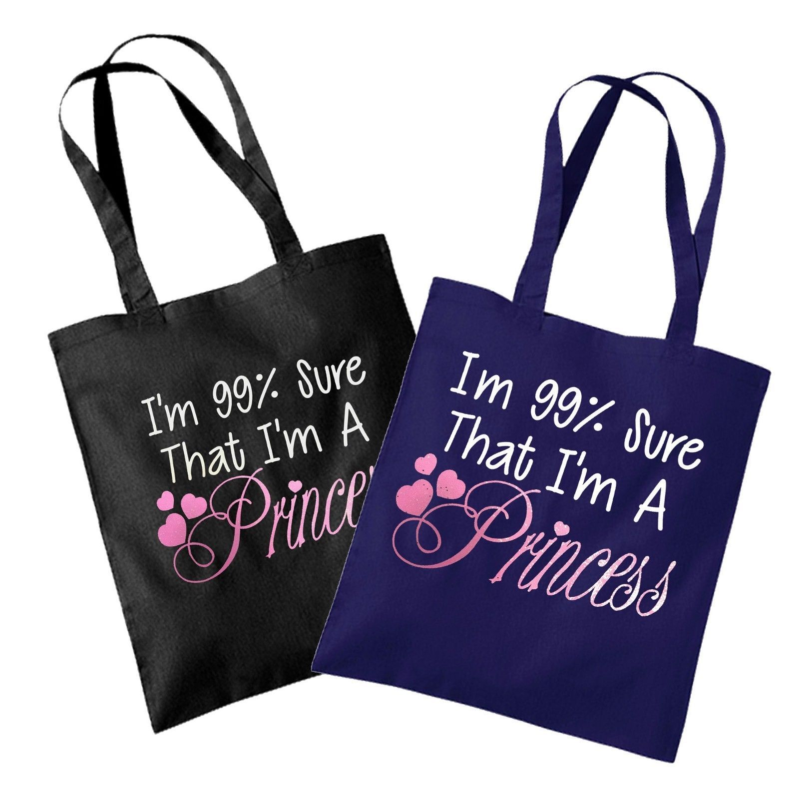 39bb398ba607 I m 99% Sure That I m A Princess Shopping Tote Bag