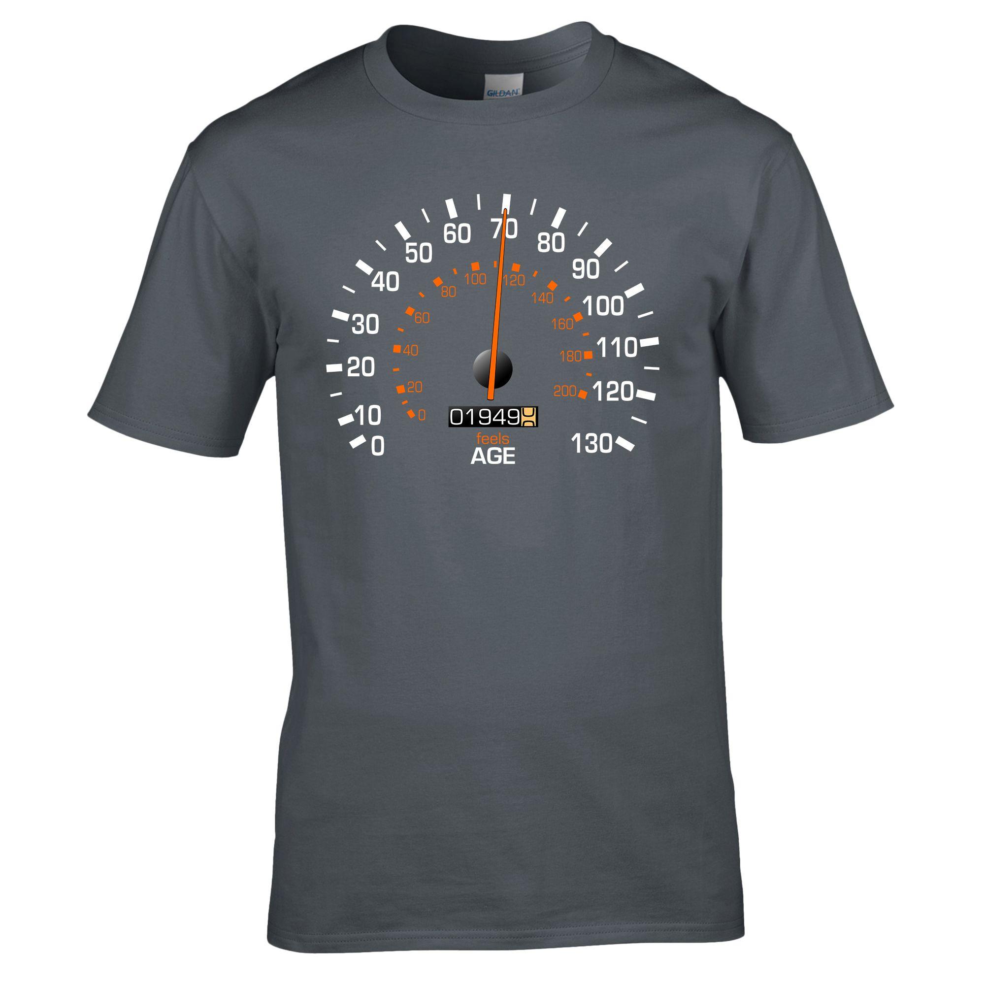 Speedometer 1949 Birthday T Shirt