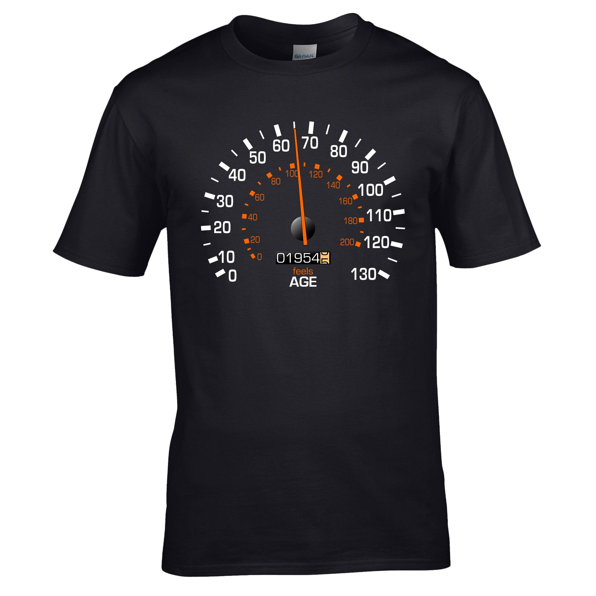 Speedometer 1954 Birthday T Shirt